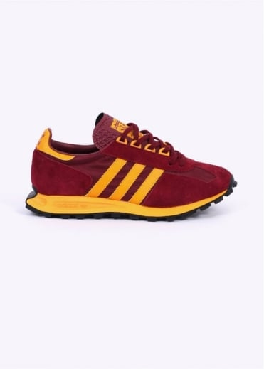 Adidas Originals Footwear Adidas Racing 1 Trainers - Burgundy