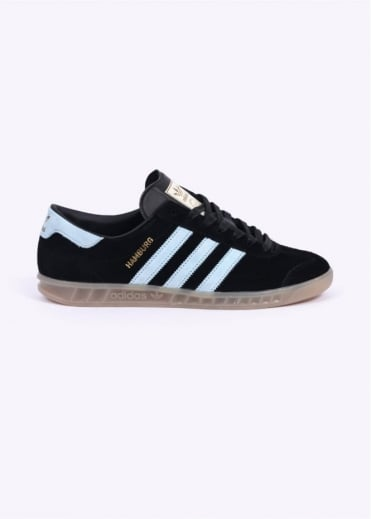 Adidas Originals Footwear Hamburg Trainers - Black / Blue