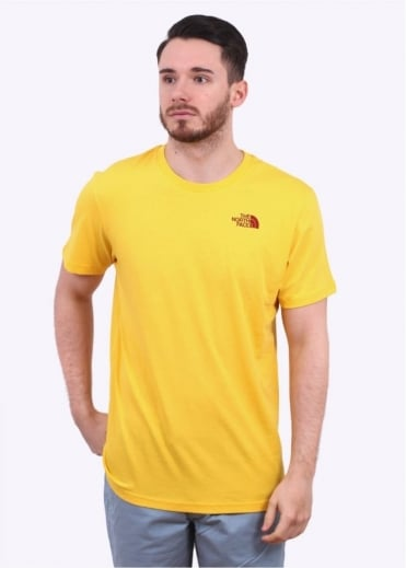 North Face Short Sleeve Simple Dome Tee - Freesia Yellow