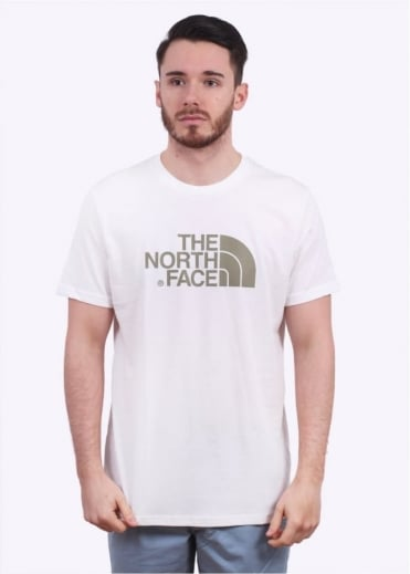North Face Easy Tee - White