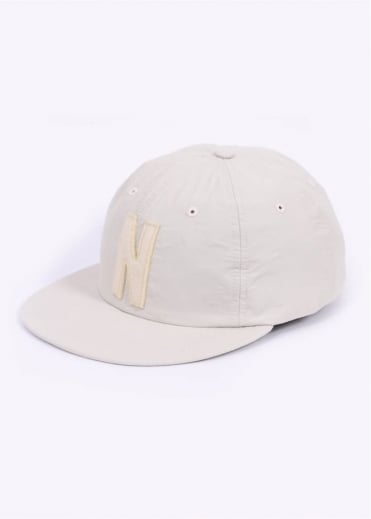 Norse Projects Summer Cotton 6 Panel Cap - Ecru