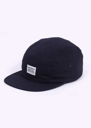 Norse Projects Ripstop 5 Panel Cap - Navy