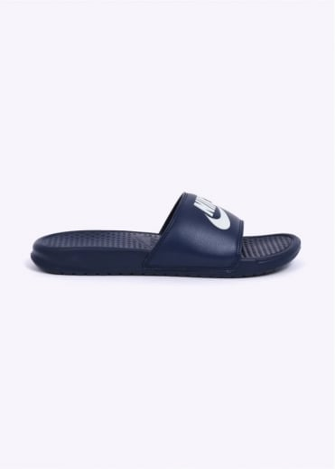 Nike Footwear Benassi JDI - Midnight Navy / White