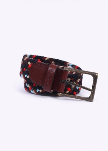 Barbour Ford Belt - Navy