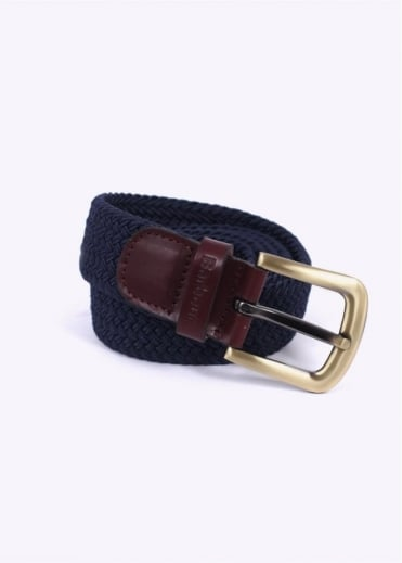 Barbour Stretch Webbin Belt - Navy