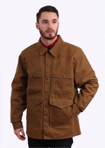 Filson Tin Cloth Cruiser Jacket - Tan