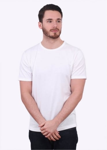 Sunspel SS Crew Neck Tee - White