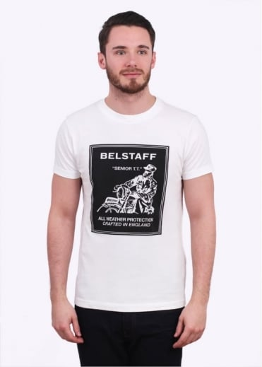 Belstaff Terling Tee - White / Black