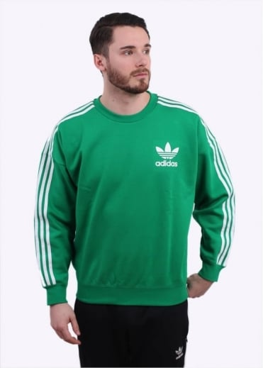 Adidas Originals Apparel Adicolour Fash Crew - Green