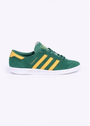Adidas Originals Footwear Hamburg Trainers - Blanch Green