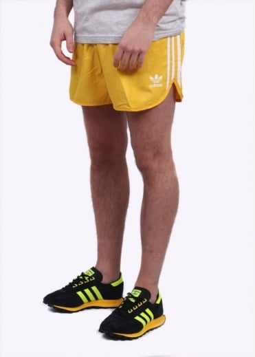 Adidas Originals Apparel Football Shorts - EQT Yelllow
