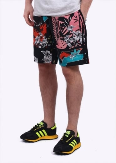 Adidas Originals Apparel Mashup Shorts - Grey Multi