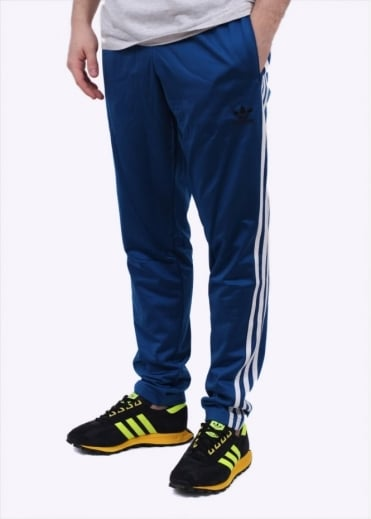 Adidas Originals Apparel Open Hem Track Pants - EQT Blue