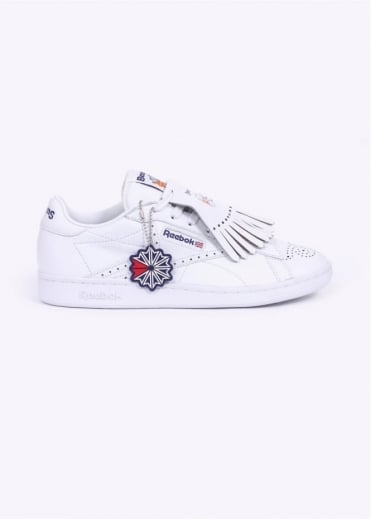 Reebok x Beams NPC UK Trainers - White / Phantom Blue / Red