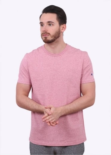 Champion Reverse Weave Classic SS Tee - Pink