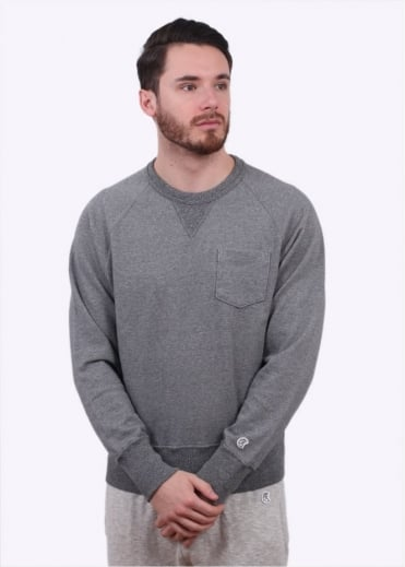Champion x Todd Snyder Pocket Sweater - Salt & Pepper