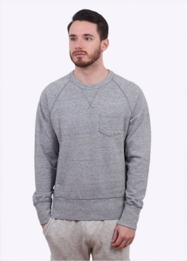 Champion x Todd Snyder Crew Sweater - Grey Heather