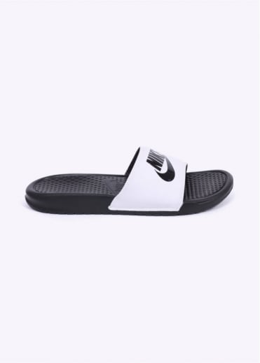 Nike Footwear Benassi JDI Sandals - White / Black