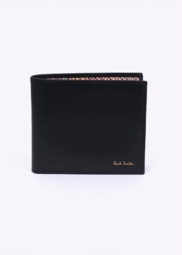 Paul Smith Accessories Stripe Wallet - Black / Multi