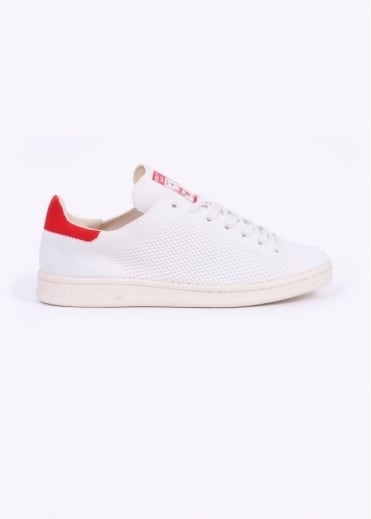 Adidas Originals Footwear Stan Smith OG Primeknit - White / Red