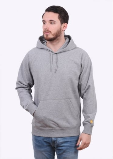 Carhartt Hooded Chase Sweater - Grey