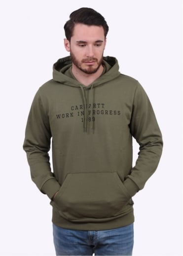 Carhartt Imprint Hooded Sweater - Bog