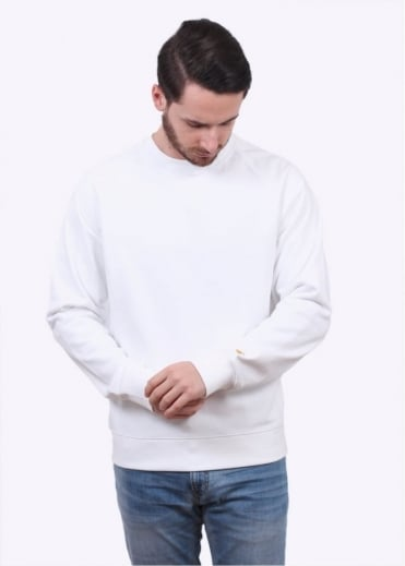 Carhartt Chase Sweater - White