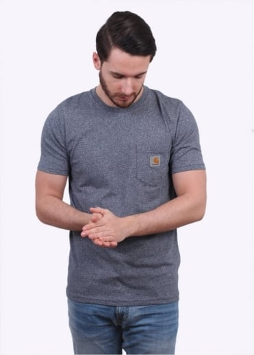 Carhartt SS Pocket Tee - Blue Noise