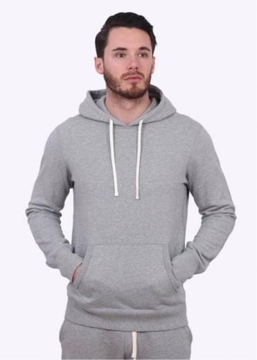 Reigning Champ Terry Pullover Hoody - Heather Grey