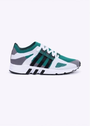 Adidas Originals Footwear EQT Running Guidance Primeknit - Grey / Black / Sub Green