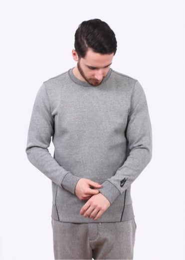 Nike Apparel NikeLab Essentials Crew Neck Sweater - Dark Heather Grey