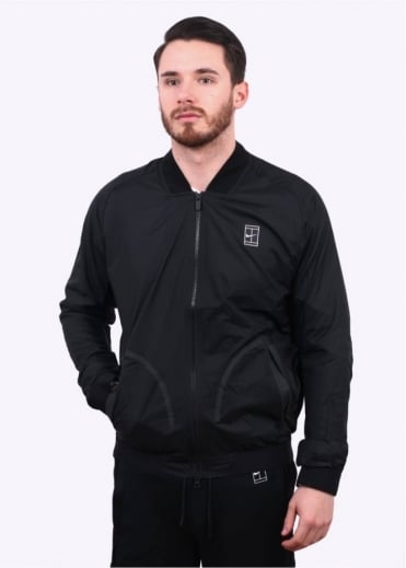 Nike Apparel NikeCourt Bomber Jacket - Black