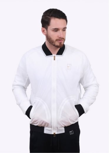 Nike Apparel NikeCourt Bomber Jacket - White