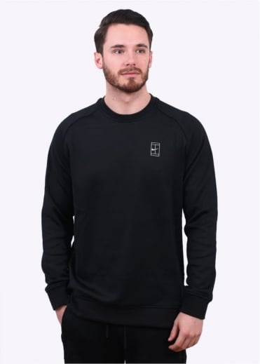 Nike Apparel NikeCourt Fleece Sweater - Black