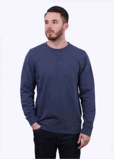 Stussy Overdyed Stock Sweater - Indigo
