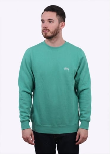 Stussy Back Arc Sweater - Green