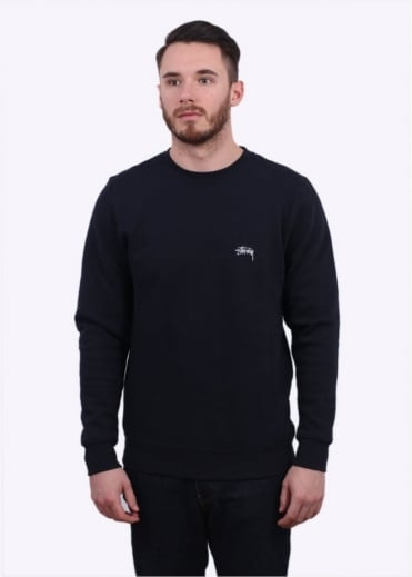 Stussy Back Arc Sweater - Navy