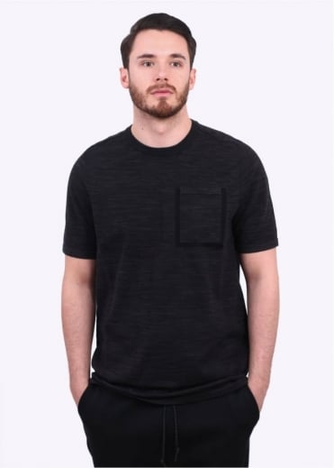 Nike Apparel Tech Knit Pocket Tee - Black / Anthracite