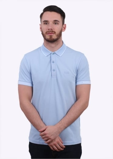 Hugo Boss Green Paule Polo Shirt - Navy