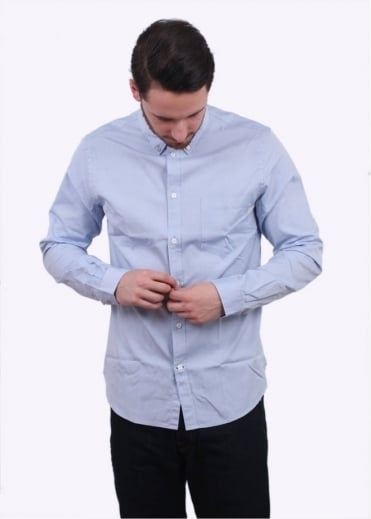 Paul Smith Tailored Pocket Shirt - Light Blue