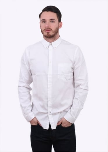Paul Smith Tailored Pocket Shirt - White