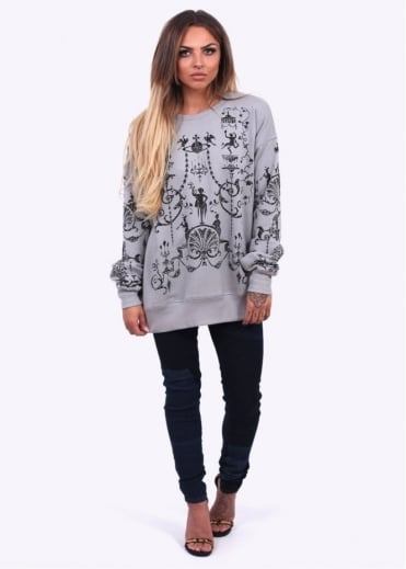 Vivienne Westwood Anglomania Boulle Sweater - Grey