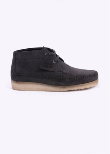 Clarks Originals Weaver Boot Suede - Charcoal