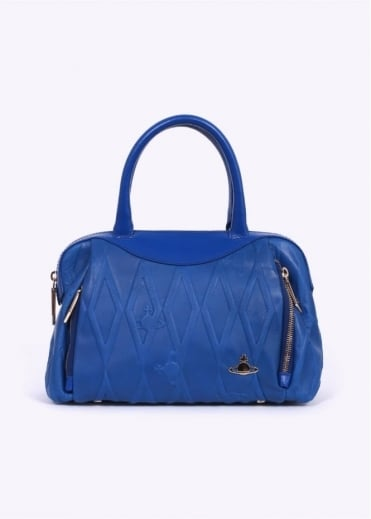 Vivienne Westwood Accessories Diamond Orb Handbag - Blue
