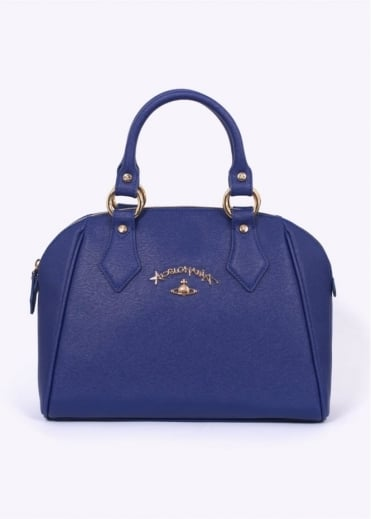 Vivienne Westwood Accessories Divina Hand Bag - Blue