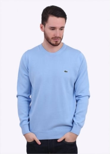 Lacoste Logo Sweater - Nattier Blue