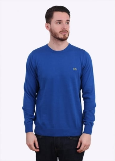 Lacoste Logo Sweater - Delta Blue