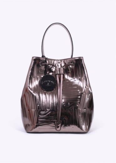 Vivienne Westwood Accessories Turner Bucket Bag - Grey