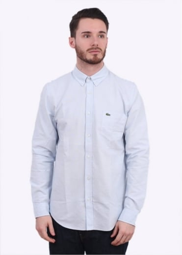 Lacoste LS Woven Shirt - Atmosphere