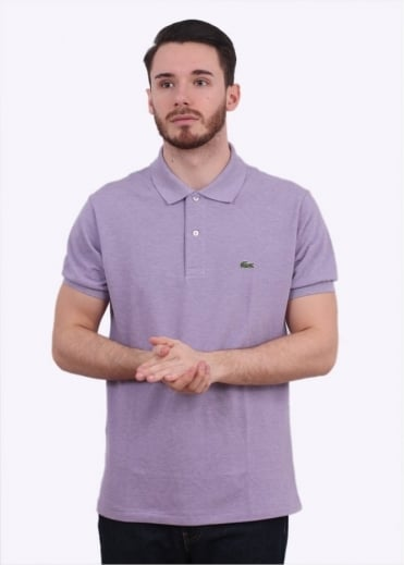 Lacoste SS Best Polo Shirt - Grape Chine
